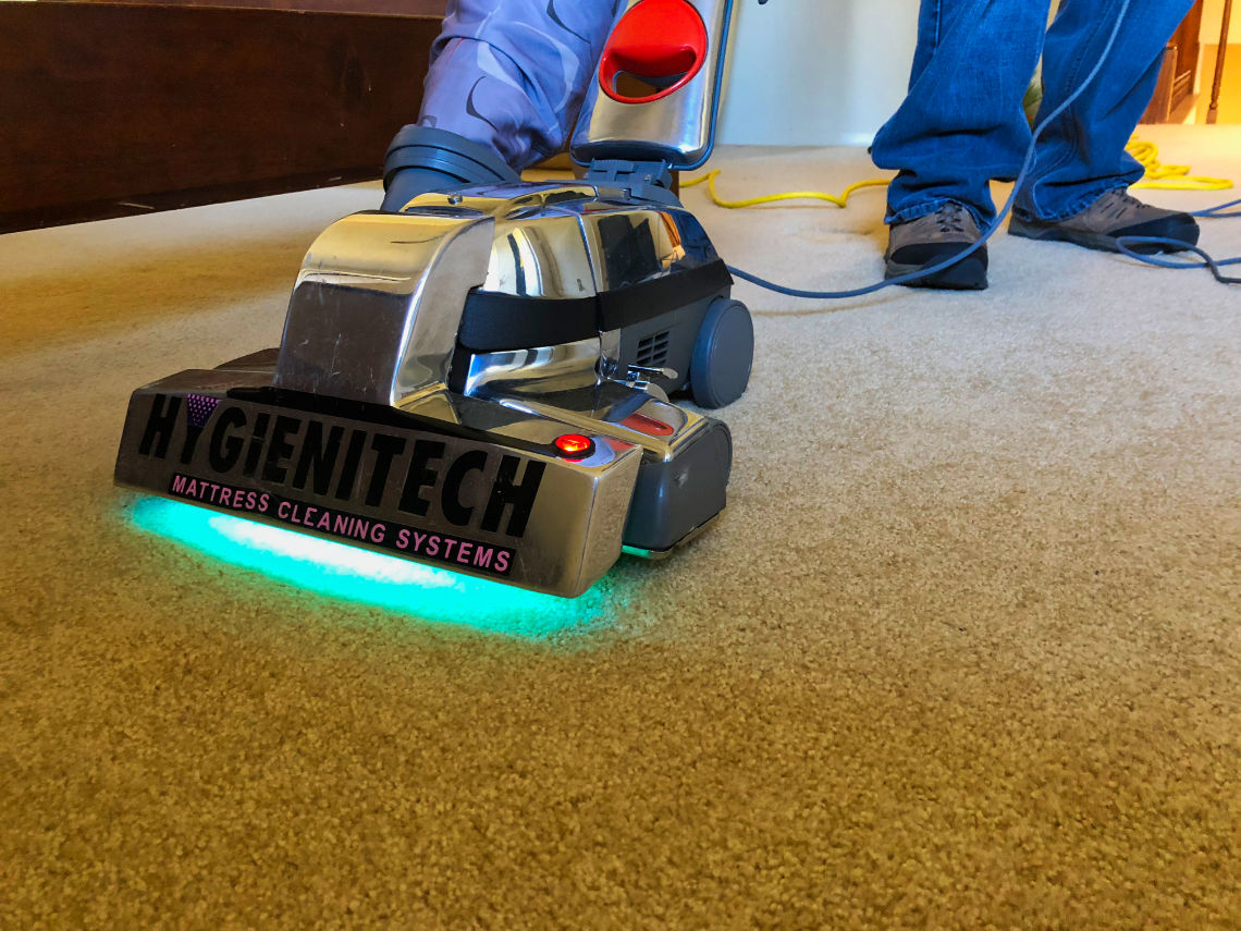Sanitizing carpets for Sanitize 4 Serenity